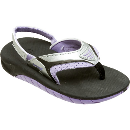 Surf The Reef Toddler Girls' Little Slap 2 Sandal are soft, comfortable, and super gentle on little feet. Whether she is making her way around the house or getting her feet wet at the beach for the first time, she'll get a cute look and a great feel from these sandals. - $20.76