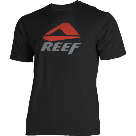 Surf You already faked your own death to get our of class, so make sure no one familiar sees you snooping around the beach in your Reef Block Slim T-Shirt. - $22.36