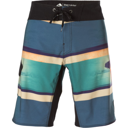Surf Rip waves, then rip into the beer cooler during a long beach day in your Reef Blown Away Girl Board Short. - $40.77