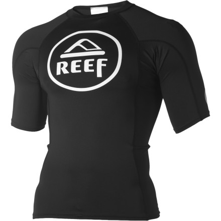 Surf The classic, circle logo on the Reef Men's Vintage Circle Rashguard may be vintage, but the UV-blocking, stretchy, quick-drying material such as heck isn't. - $24.67