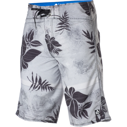Surf Hit the beach, lake, or breaks with more style and a better feel than you've ever experienced when you sport the Reef Men's Flower Peddler Board Short. The flower print brings the island spirit to you and the flexible material equates to all-day comfort. - $54.36