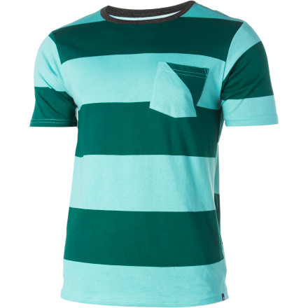 Surf Reef Cool Stripe Crew - Short-Sleeve - Men's - $16.47