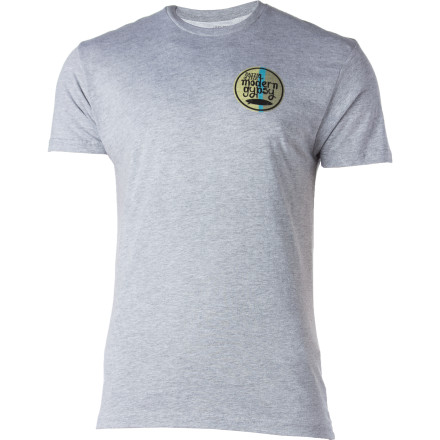 Surf Reef Crest On Back Slim T-Shirt - Short-Sleeve - Men's - $16.07
