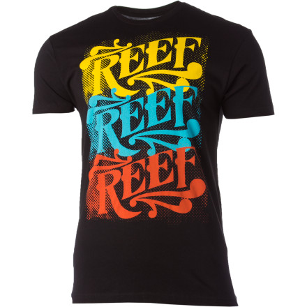 Surf Reef Carnival Signage Slim T-Shirt - Short-Sleeve - Men's - $13.77