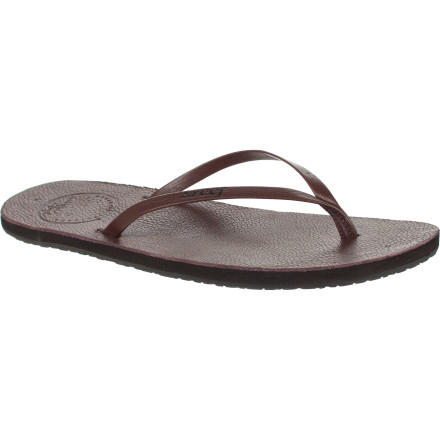 Surf Those rubber or foam sandals are perfect for a day at the beach or hostel showers when on vacay, but on a hot summer night out you need something stylish and classy; you need the Reef Women's Leather Uptown Sandal. - $26.37