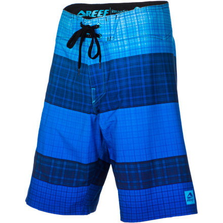 Surf Look no further for your new boardies, the Reef Men's My Name Is Plaid Stripe 2 Board Short is the quick-drying, odor-fighting, UV-blocking, super-stretchy short for your amphibious lifestyle. - $58.47