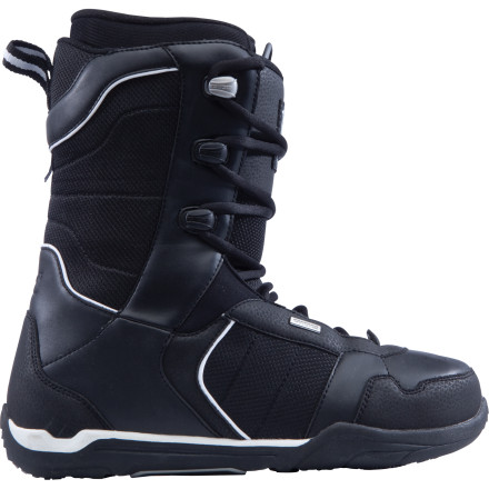 Snowboard Some may use terms like 'progressing' or 'intro' to describe the Ride Men's Orion Lace Snowboard Boot, but however you label it, it's far from inferior. This lightweight, easy-flexing, self-molding, and incredibly comfortable boot provides great stability for newbie- to intermediate-riders who lives by the following words of wisdom: less is best. - $51.98