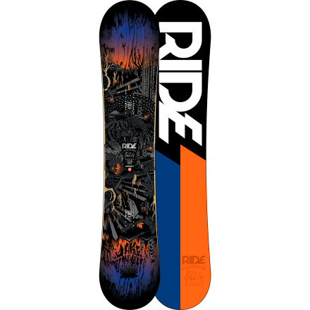 Snowboard If you've ever watched Jake Blauvelt float a massive, tweaked-out spin off some gnarly natural feature, you know what the Ride Berzerker Snowboard is capable of. The stable yet floaty Hybrid All-Mountain profile and poppy flex offer a stompable, shreddable ride for pow-hungry riders with big boots. - $299.97