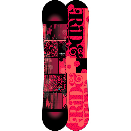 Snowboard Tuned for the park, perfectly suitable for the rest of the mountainthe Ride Women's Compact Snowboard crams a large purse full of fun-enhancing features into, well, a compact package. Ride's LowRize rocker, Membrain topsheet, and poppy Foundation wood core make this a smooth ride that's capable of getting rowdy. - $215.97