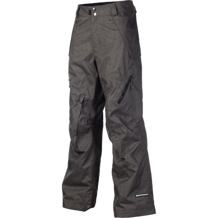 Snowboard The Ride Alki Snowboard Pant doesn't care what the weather brings, it wants to go to the mountain. 20K-rated fabric, fully taped seams, and RiRi Aquazip zippers make sure moisture doesn't stand a chance of finding it's way in, and the classic fit gives you plenty of room to layer when temperatures dip. So you have no reason not to ride, whether it be rain, snow, or slush. - $137.97