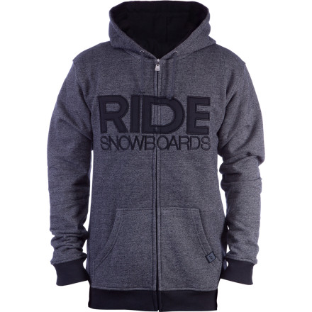 Snowboard The Ride Men's Feathered Full-Zip-Hooded Sweatshirt takes you from breakfast to last call in casual style. - $37.92