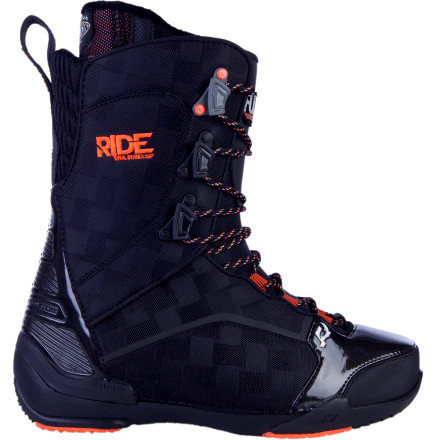 Snowboard The Ride FUL Lace Snowboard Boot delivers mega-lightweight all-mountain performance and the infinitely micro-adjustable tension control of a traditional lace design. - $149.97