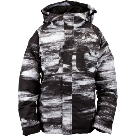 Snowboard You only need one jacket for the whole season with the Ride Boys' Nova Snowboard Jacket. That's because the Nova includes a zip in/out fleece liner so you can rock the shell by itself, wear the fleece when it gets warm, or put them together for a heavy-duty jacket when temps really dip. - $63.98