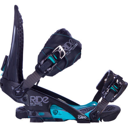 Snowboard The Ride Capo Snowboard Binding combines freestyle tweakability with the support you need for balls-out charging. - $161.97