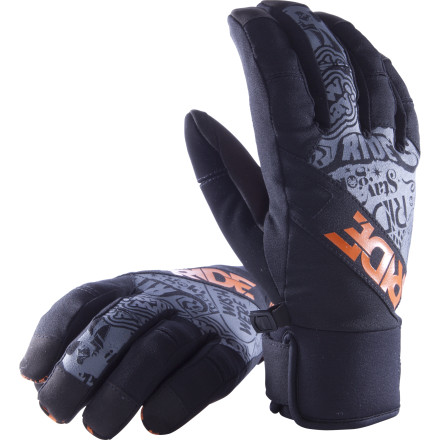 Focused on fit, comfort, and a nice, trim fit, the Ride Shorty Glove delivers a low-profile feel along with through-the-roof comfort. The water-resistant shell and tricot fleece lining are all you need to stay dry while making laps through the park in the spring and, if you're lucky, the summer months. - $29.97