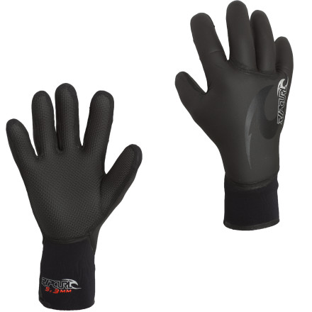 Surf Winter swells push the best surf of the year onshore, and with the Rip Curl Flash-Bomb 5/3 5 Finger Glove you can keep your digits warm while you paddle through the cold foam all day long. - $44.96