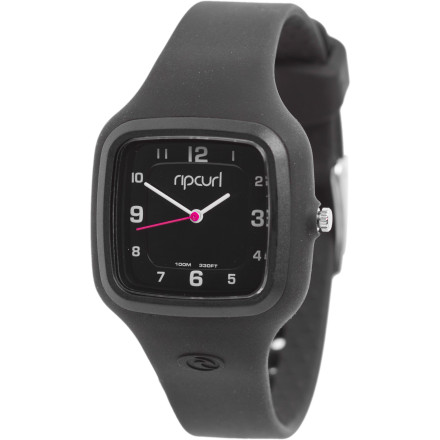 Entertainment The fun and funky Ripcurl Cosmic Watch not only comes in a gaggle of outfit-completing colors, it's also highly durable and water-resistant. Wear it everywhere from a swim at the gym to a night out with the girls. - $89.95