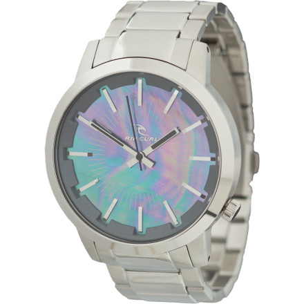 Entertainment Big, boyish watches can be great, but sometimes you want something a little more feminine. The Ripcurl Detroit Watch combines a modern oversized silhouette with a pearl face for classy looking style that dresses up or down with ease. - $179.95