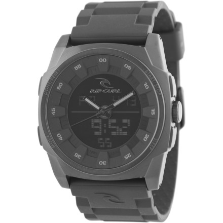 Entertainment The analog/digital hybrid Ripcurl Kaos Watch has been sent back in time from the futurewith the sole purpose of eliminating whoever started the AutoTune craze. - $174.95