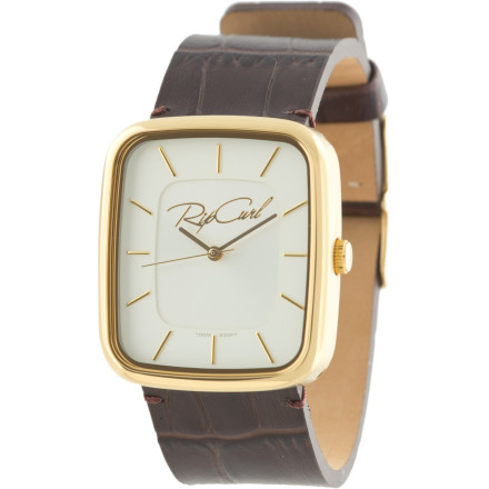 Entertainment With a stripped-down design and timeless leather-band silhouette, the Ripcurl Dawn Watch exudes class when paired with everything from jeans and a top to heels and a mini-dress. - $124.95