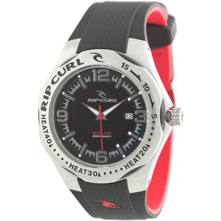 Entertainment The Ripcurl Solar Barrel PU Watch not only never needs a battery, it also doesn't need to be babiedthanks to a tough stainless-steel casing and long-lasting PU band. Timeless sporty style dresses up, down, or sideways (huh) with ease. - $162.47