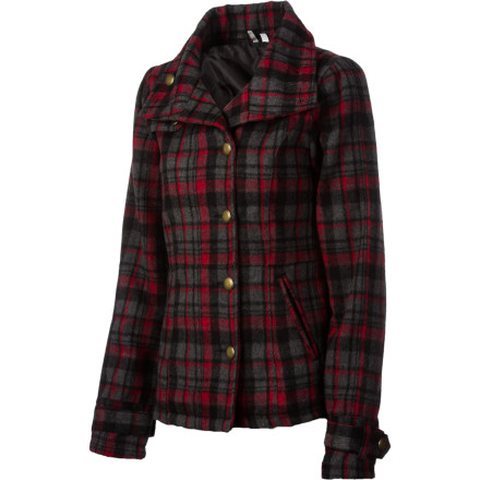 Surf Don't be surprised if the Rip Curl Women's Wonderland Jacket quickly becomes your go-to jacket. Thanks to this jacket's cozy Melton wool fabric, the chilly bite of fall hardly fazes you as you watch your school's soccer or football game. - $49.20