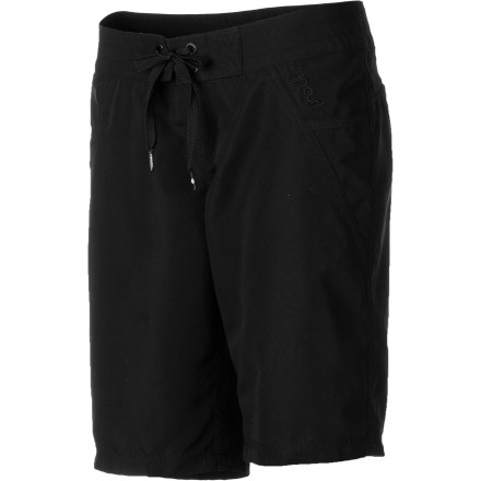 Surf Since you burnt the back of your upper thighs yesterday, put on the Rip Curl Women's Love N Surf Shorts and shield those crispy legs from the sun. This 11-inch board short gives you a bit of coverage with a simple square cut and a sexily scalloped hem. - $39.45