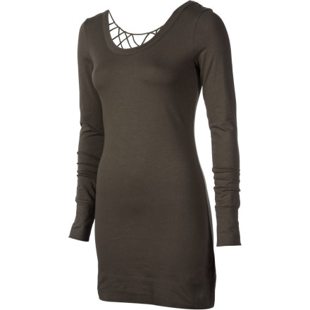 Entertainment The Rip Curl Women's Twinkling Dress is sexy, modern, and elegant. Soft, flexible fabric highlights your silhouette while intricate fabric work on the back panel shows off just the right amount of skin. Rock this dress with heels and an attitude. - $32.14