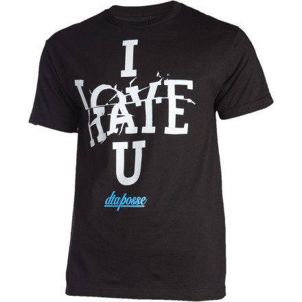 We kind of have mixed feelings about the Rogue Status Love Hate T-Shirt. But we think that it will make a great gift for a frenemy. - $14.37