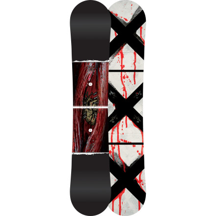 Snowboard The Addictive Collection edition of Rome's Agent Rocker Snowboard features all the same next-level tech, but with a limited-edition graphic treatment that lets you feel smugly superior to everybody you see riding the regular version. - $356.97