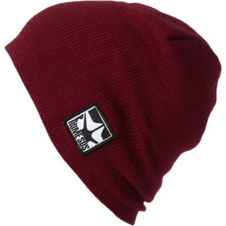 Guess what logo is on the Rome Logo Beanie. C'mon, give it a shot. Give up Good, you should give up thinking and just go ride. - $13.17