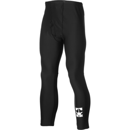 Don't be that guy wearing crappy cotton waffle under your shred pantsthe Rome Logo Pant keeps your lower half warm, comfy, and sweat-free thanks to moisture-transporting EcoWick material and strategically placed seams designed to eliminate irritation. - $38.46