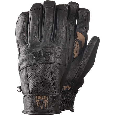 Snowboard The Rome Hoss Glove delivers ranch-hand styling with next-level tech that you won't find in a hardware store. - $59.97