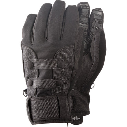 The Rome Women's Norfolk Glove keeps your hands covered with the low-volume you would expect from a pipe glove with warmth and waterproofing fit for the whole season. - $38.97