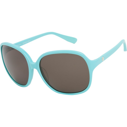 Entertainment The guy at the table across from the outdoor cafe keeps glancing your way, clearly attracted by the chic sophistication of your Roxy Women's Enjoye Sunglasses. Whether said cafe is on the French Riviera or Revere Beach, these sleek shades help stand out from the crowd. - $70.00