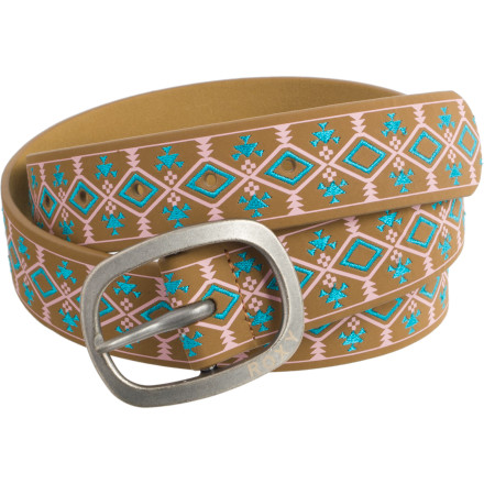 Entertainment Whether you just need something to hold up your jeans or a simple accessory for your favorite cocktail dress, let the Roxy Women's Tribal Belt perfect your cute ensemble. - $17.10
