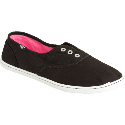 Surf Slip the Roxy Jetty Shoes on and go laceless, or tie up with the included laces and make sure these shoes stay on your feet as you roll down the boardwalk. Padded and flexy TPR-injected insoles make sure your feet stay happy all spring and summer. - $23.40