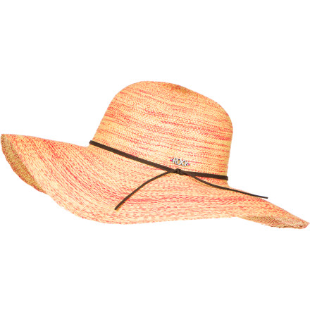 Surf Change up your look and forgo the sporty visor for the Roxy Women's By The Sea Hat on your next beach vacation. This lightweight paper straw hat with a floppy brim still protects your from the sun, and the string band with beads and a metal logo charm adds superior style. - $23.80
