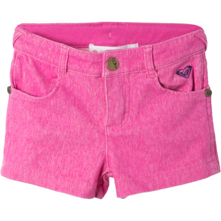Fitness The bases to a fashion home run are loaded and the Roxy Infant Girls' Grand Slam Shorty Short has the summery style and comfy 5% stretch French terry to knock it out of the park. - $20.40