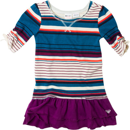 Entertainment Slide her into the Roxy Little Girls' Better Days Dress and a pair of leggings when it's time for the yearly family photo. - $30.40