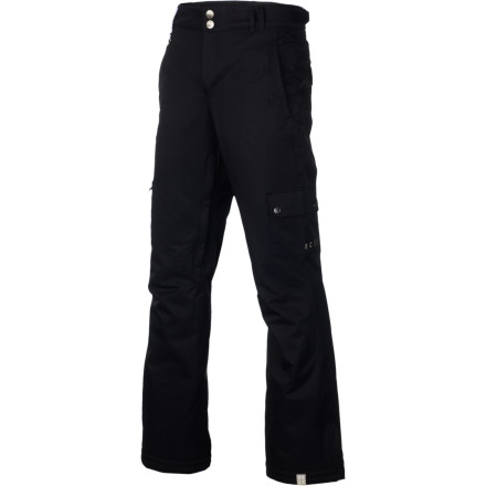 Snowboard Get your legs into the Roxy Women's Lightning Pants when you want a laid-back look and enough shred-ready tech to keep you dry and warm when you're exploring the resort or lapping the park. All you'll need is a little fresh snow and enough time away from work and school to head to the mountain. - $84.00
