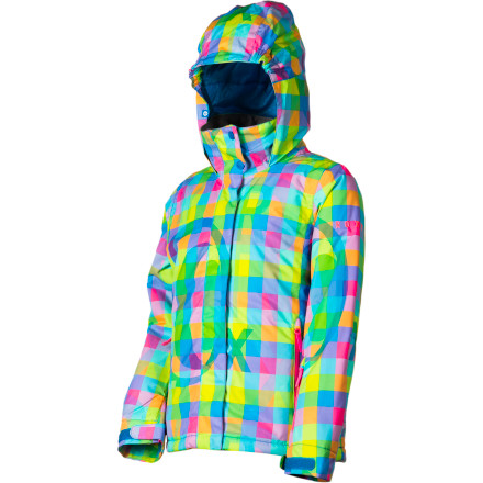 Snowboard Don't let freezing temperatures interrupt your outing to the hill, put on the Roxy Girls' Jetty Girl Jacket and fight back against foul weather, in style. - $55.00
