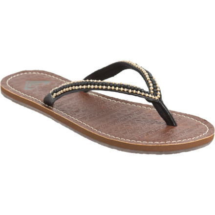 Surf Instead of stubbing your toe when you ride your townie, slide on the Roxy Women's Kenya Sandal. This lightweight flip-flop helps keep your feet glass-free while you walk to the beach or hang with friends. - $17.00