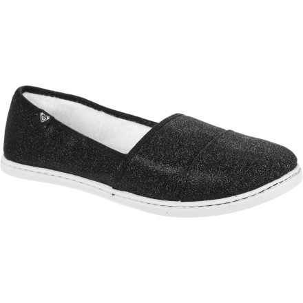 Surf After a long day on your feet, come home, slip on Roxy's Pier Fur Shoes, and start to plan your weekend. - $26.40
