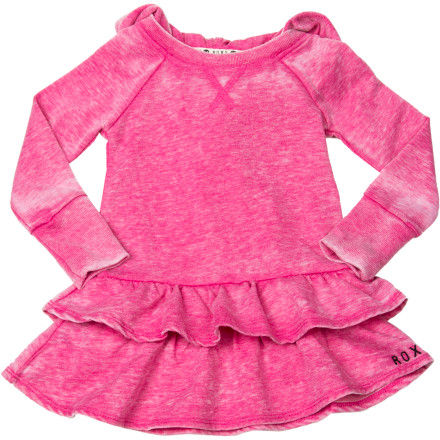 Entertainment Dress her in the Roxy Toddler Girls' Toasty Dress and watch her whole face light up. The Toasty's soft fabric dispels her dresses-are-uncomfortable fears. - $25.17