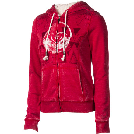 Surf Roxy Glacial Full-Zip Hoodie - Women's - $35.70