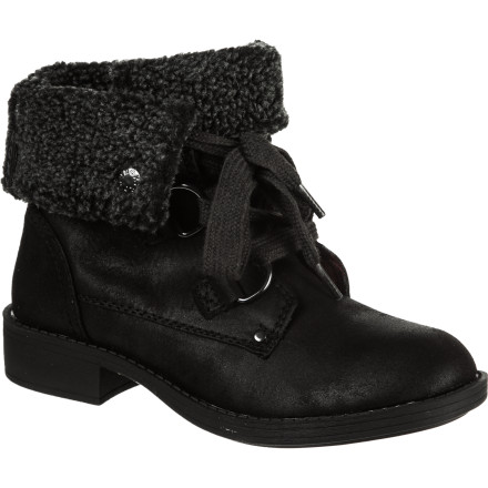 Surf Slide your feet into a pair of the Roxy Women's Cambridge Boots, pull on your wool coat, and meet your friends at the local restaurant down the street for some wine and catching up. These boots' convertible fold-down faux-fur shafts add a touch of fuzz to your outfit. - $44.40