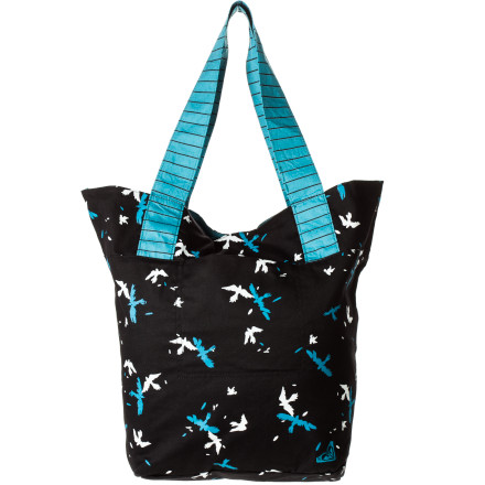 Surf What's cheerier than a bright beach bag with allover print and room enough for all your beach toys Not much, as you'll find out when you carry the Roxy Women's Better Things Tote and smile all day long. Having all that you need... sunscreen, towel, extra layers, snacks, and a good book...in a package that you like makes everything better. - $22.80