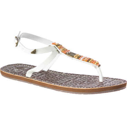 Surf If you have as many maxi dresses as bikinis in your vacation bag, then the Roxy Women's Antigua Sandal is that extra touch you could use to tie your after-sundown dinner look together. - $23.40