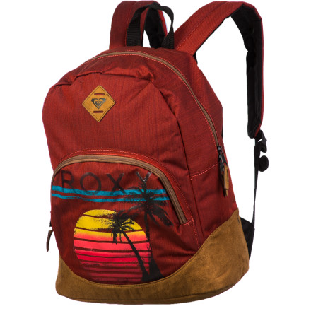 Camp and Hike The way we see it, a good backpack not only achieves organization but also is capable of inspiration. The Roxy Fairness Backpack provides both with a large main compartment, organizer panel, and some fresh visual designs to captivate your creativity as you travel to work, school, or play. - $32.20